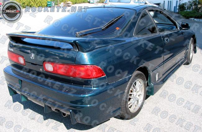 Integra BC Style Rear Bumper D ROCKETZ AUTOSPORT - Acura integra rear bumper