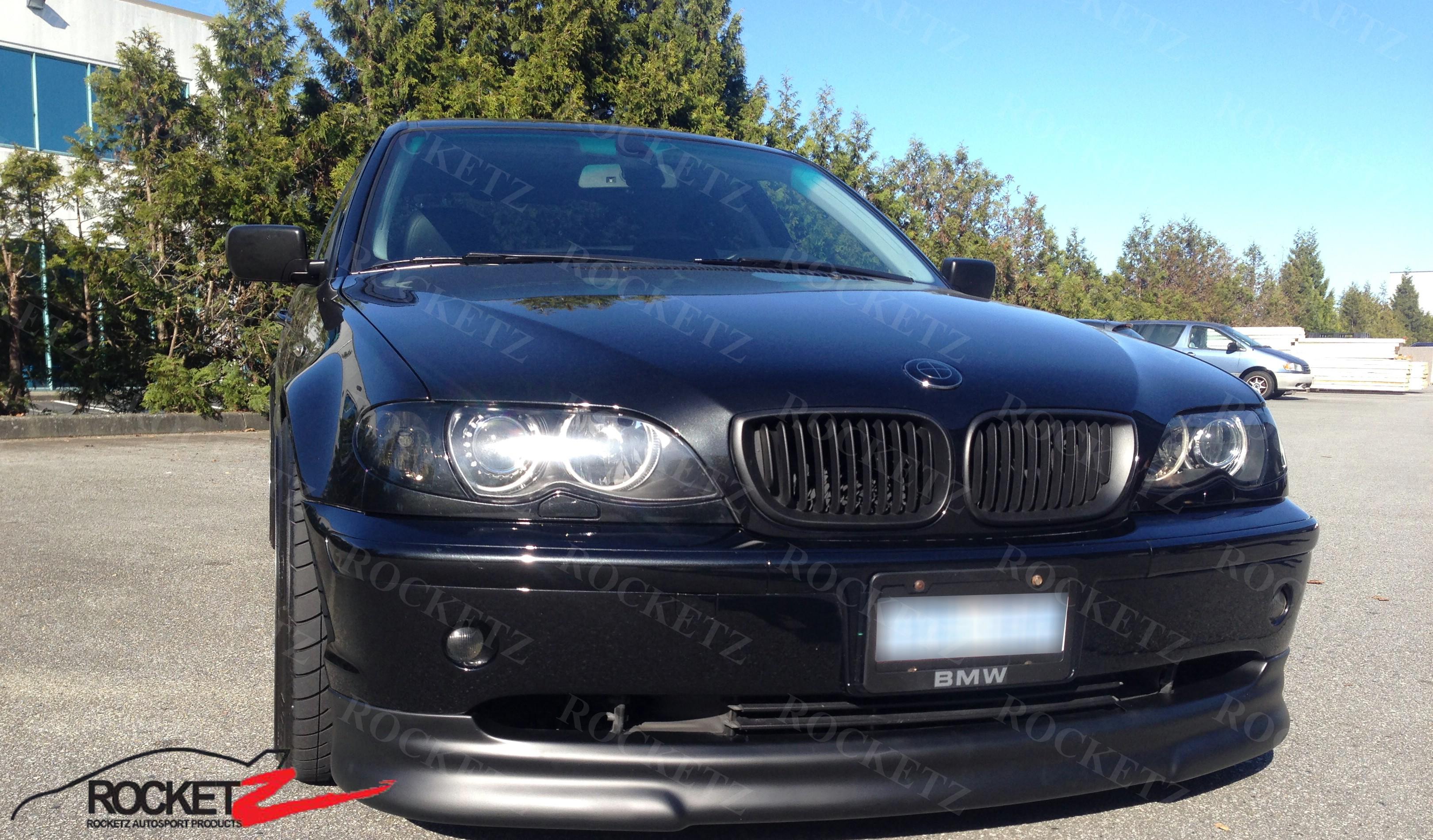 Bmw E46 03 05 Hm Style Front Lip 4d
