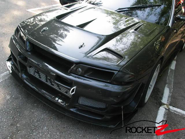 R32 Gtr Tt Style Carbon Fiber Hood Rocketz Autosport