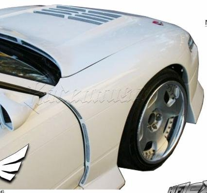 Nissan S13 Silvia Bb Wide Style Front Fenders Frp