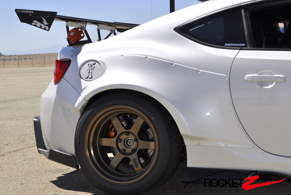 Scion Frs Ft86 Rb Style Rear Fenders Rocketz Autosport
