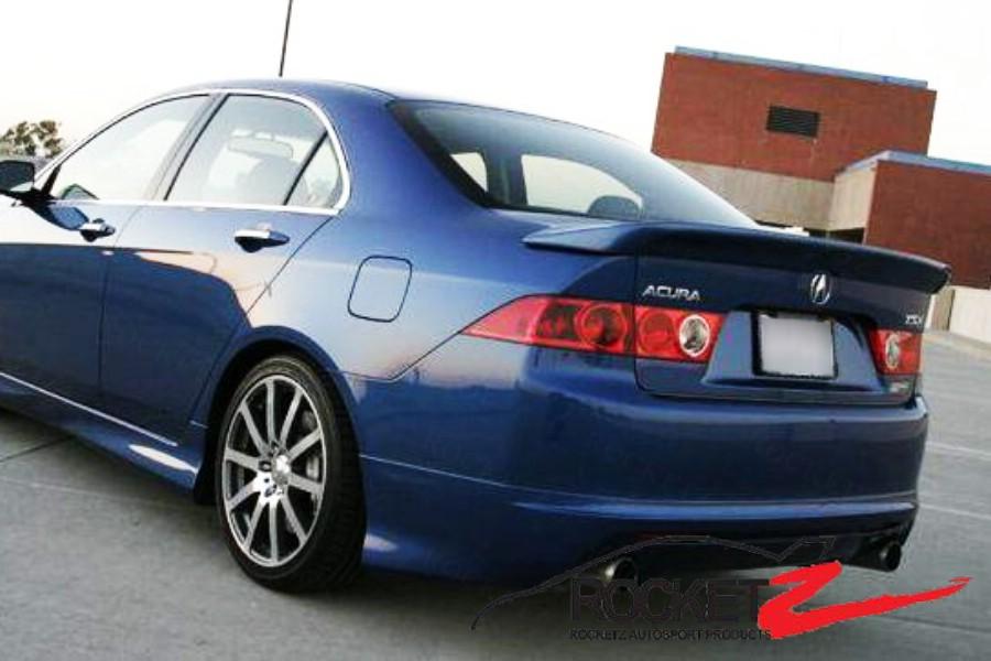 Tsx m style spoiler rocketz autosport product description sciox Image collections