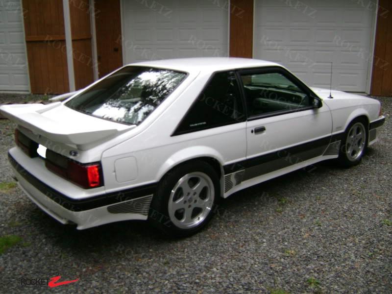1989 Mustang Saleen Wing