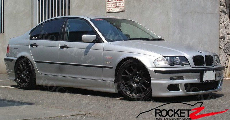 Bmw E46 99 Rg M3 Style Side Skirts 2 4d Rocketz Autosport