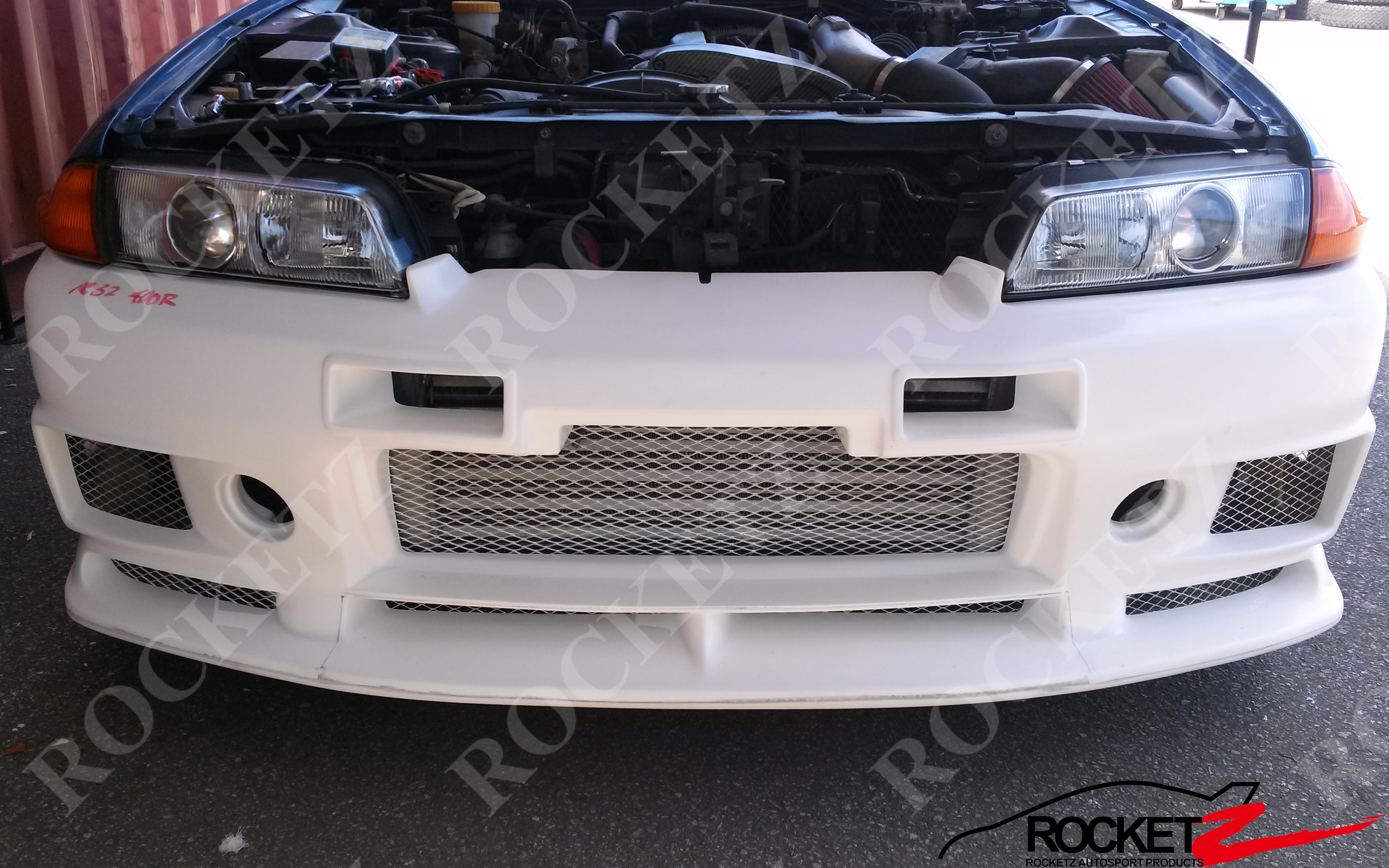 R32 Gtr Nismo 400r Style Front Bumper Rocketz Autosport