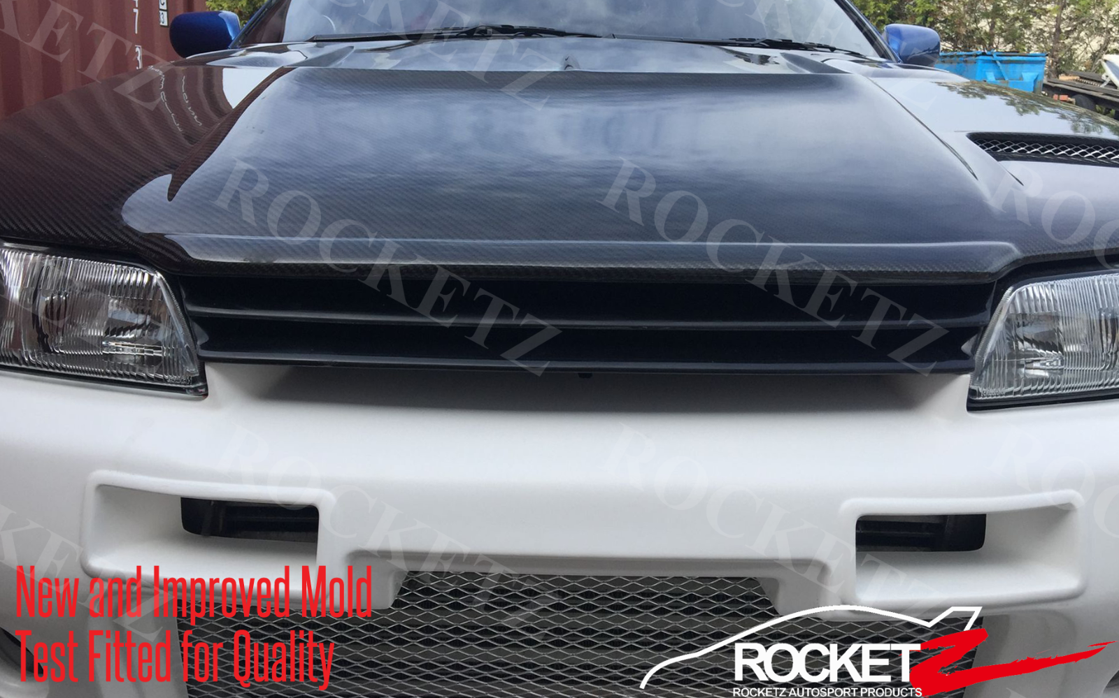 Nissan R32 Skyline GTR Style Front Grill FRP